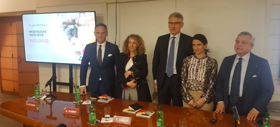 Presentato da Trenitalia il travel book Wellness