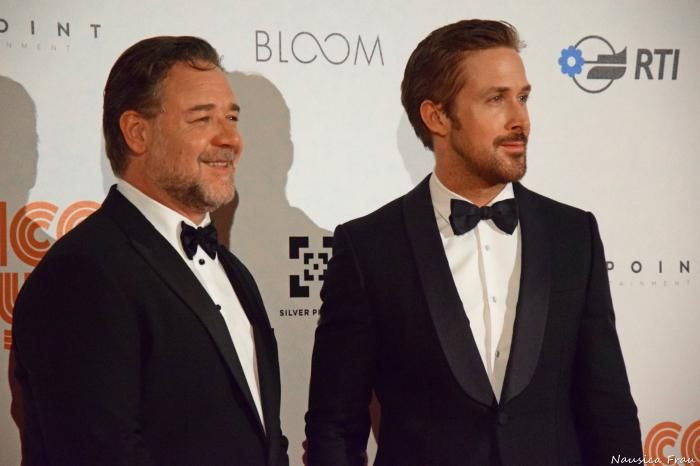 """The Nice Guys"": il duo Crowe-Gosling da Cannes a Roma"