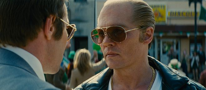 "Venezia 72. Johnny Depp invecchiato in prima mondiale per ""Black mass"""