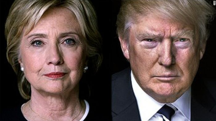 Hillary e Trump testa a testa a Washington