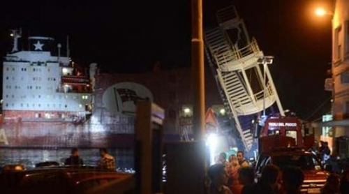 Incidente al Porto di Genova. 7 morti, 4 feriti e 2 dispersi
