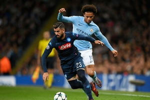Champions League. Il City batte il Napoli 2-1
