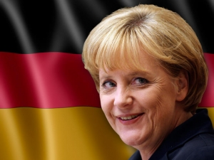 Germania, folle si barrica in Municipio prima del comizio della Merkel
