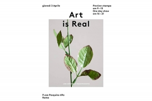 Art is Real. Una collezione impermanente
