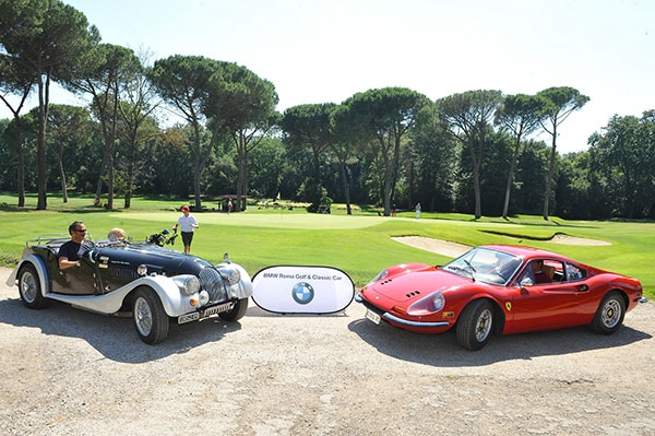 """BMW Golf & Classic Car"". Quando al golf incontri un'auto d'epoca"