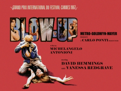 "Cannes 70. ""Blow Up"", quando Antonioni faceva scandalo"