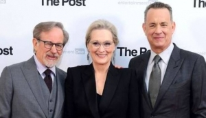 """The post"", lo presentano in Italia tre mostri sacri del cinema"
