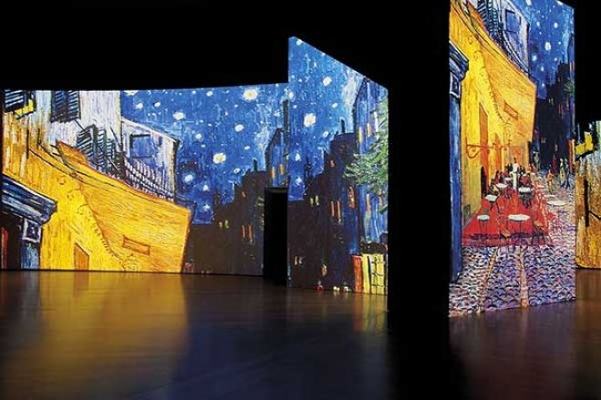 Arte. A Roma Van Gogh Alive - The Experience