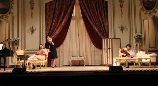 "Teatro Sistina. Apre ""End of the Rainbow"" con Monica Guerritore"