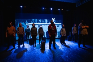 "Teatro Vittoria. ""Kobane calling on stage"", graphic novel theatre 5 -15 dicembre 2019"